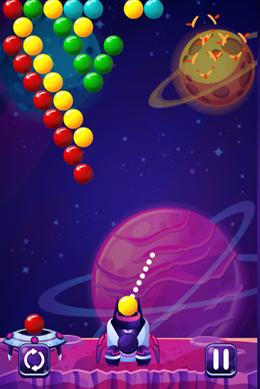 Space Bubbles screenshot 1