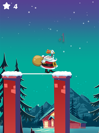Stick Santa screenshot 0
