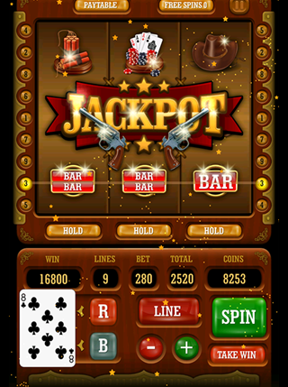 Wild West Slot Machine screenshot 0
