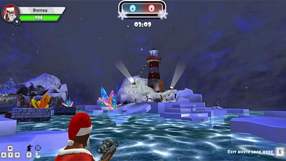 Winter 3D Clash screenshot 1