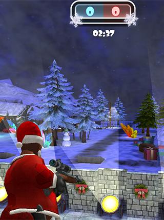 Winter 3D Clash screenshot 2