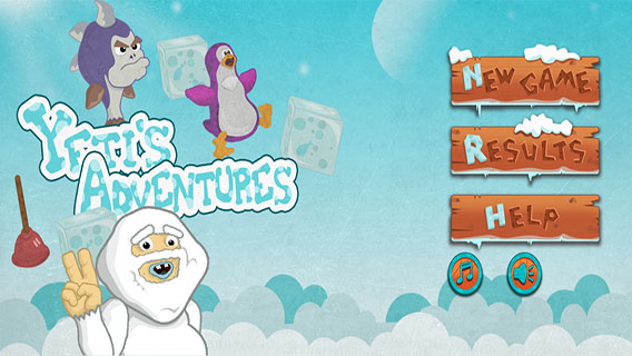 Yeti's Adventure screenshot 0