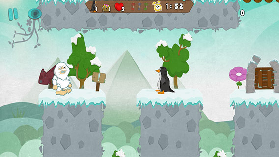 Yeti's Adventure screenshot 2