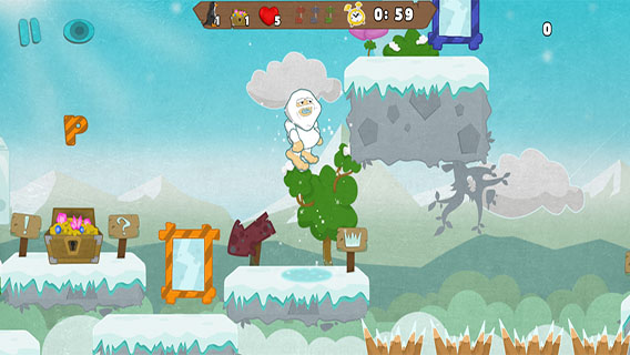 Yeti's Adventure screenshot 3
