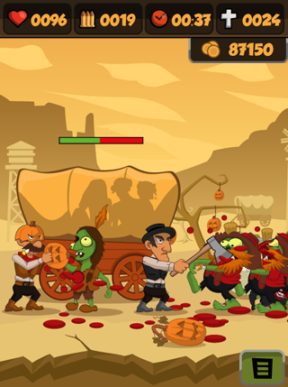Zombies vs Halloween screenshot 0